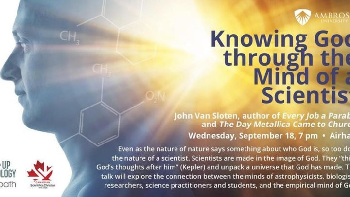 Knowing God through the Mind of a Scientist logo image