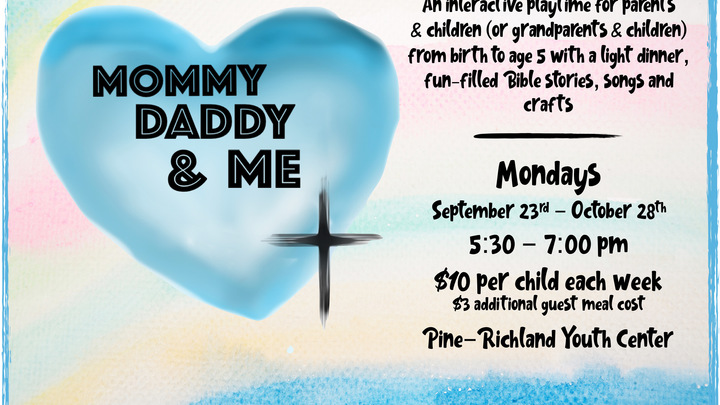 Mommy Daddy & Me  - Fall 2019 logo image