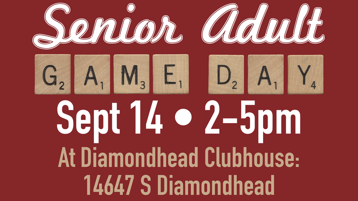 Senior Adult Game Day logo image