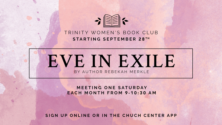 Women's Book Study - Eve In Exile logo image