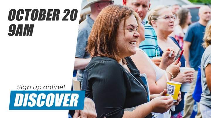 Discover Class | October 20 logo image