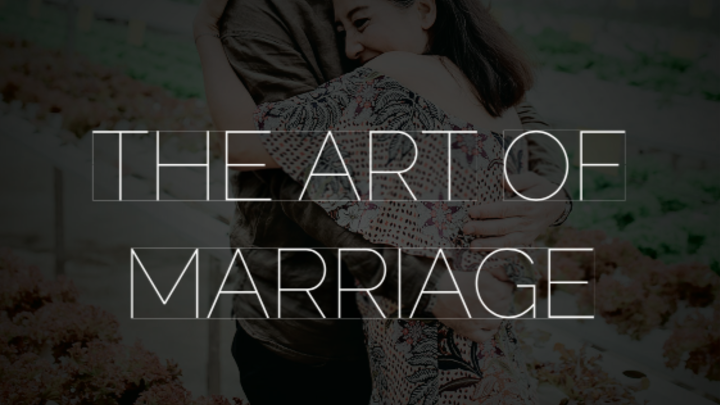 "Journey Group, ""The Art of Marriage"" logo image"