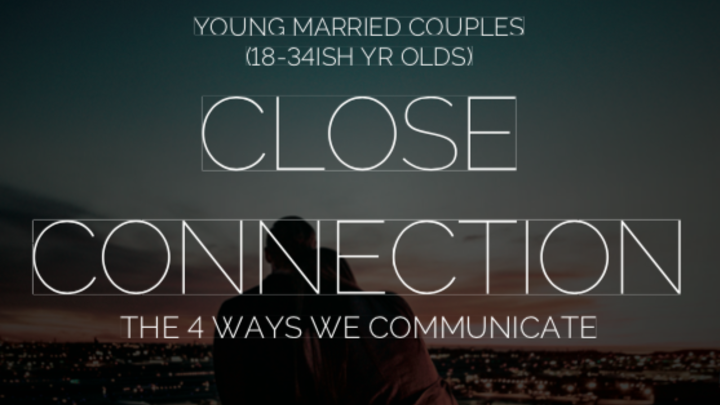 "Journey Group, ""Close Connections"" for young married couples logo image"
