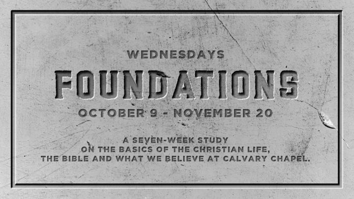 Christian Foundations ~ Fall 2019 logo image