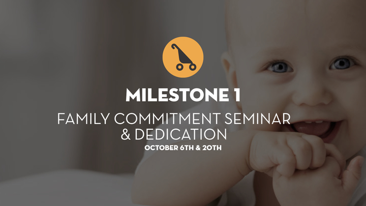 Milestone 1 - Family Commitment Seminar and Service logo image