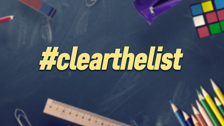 Clear the List logo image