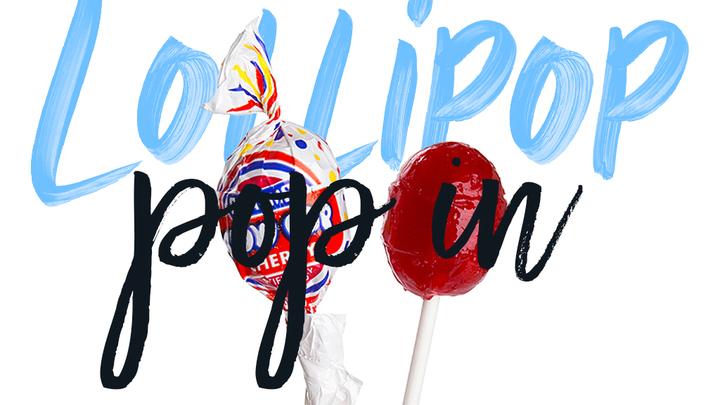 LOLLIPOP  POP IN logo image