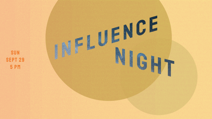 Influence Night (ALL Serving Teams are Invited!) logo image