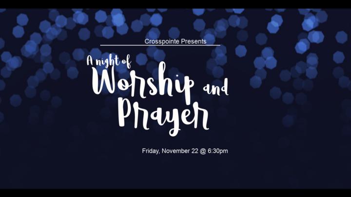 A Night of Worship and Prayer logo image