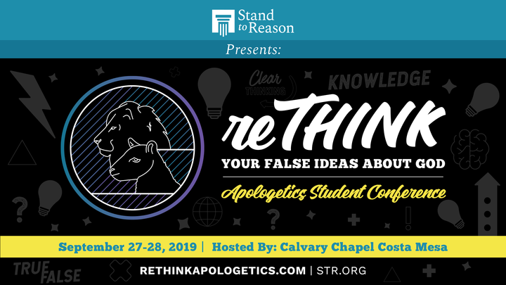 reTHINK Apologetics Student Conference logo image
