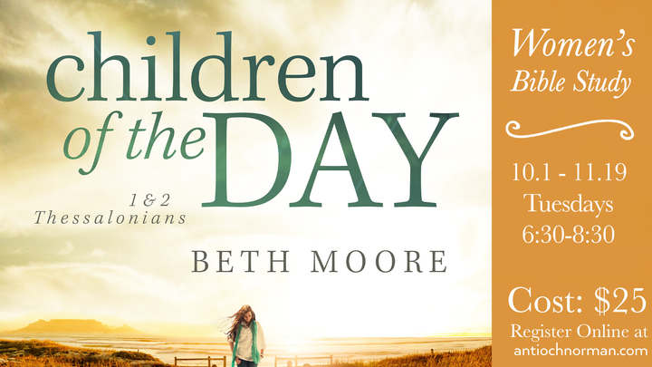 Women's Bible Study | Children of the Day By Beth Moore logo image