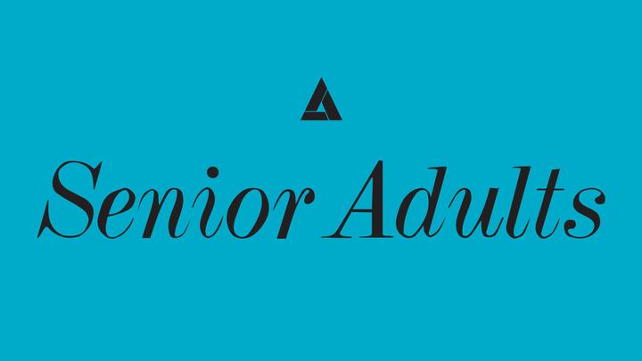 Senior Adult Monthly Meeting logo image