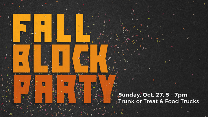 Fall Block Party 2019 Volunteer Sign Up logo image