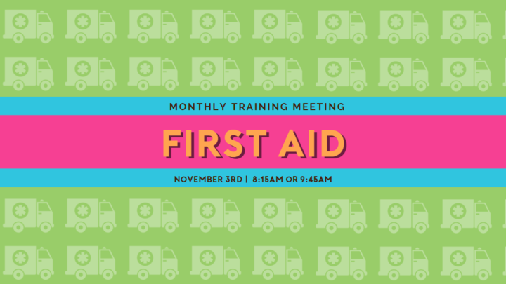 Children's Ministry Training - First Aid! logo image