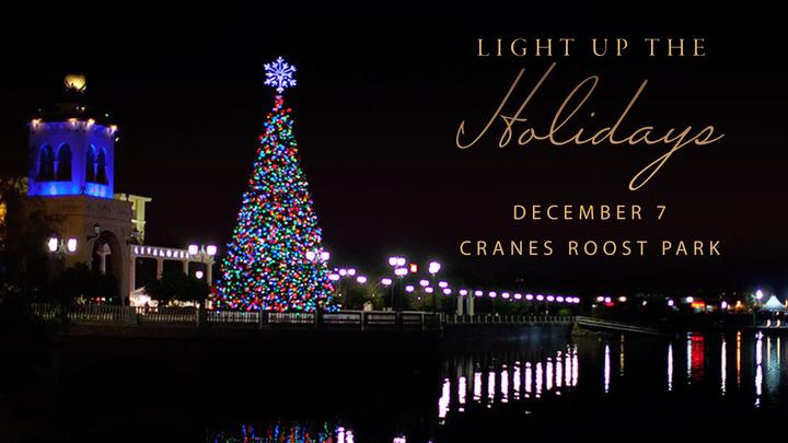 Light Up The Holidays logo image
