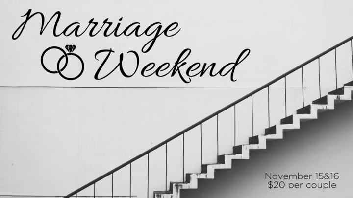Marriage Weekend 2019 logo image