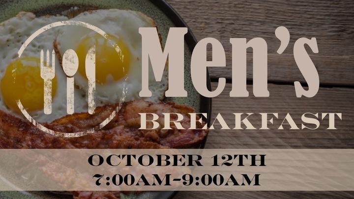 Men's Breakfast October 12th logo image
