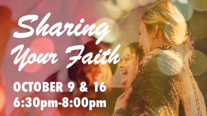 Sharing Your Faith logo image