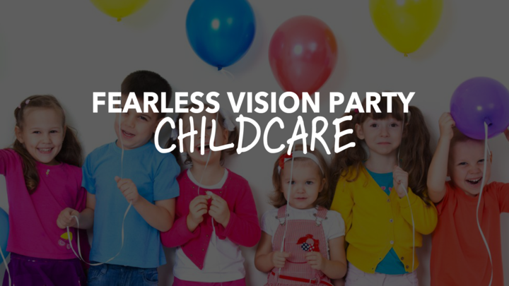 Fearless Vision Party - Childcare logo image