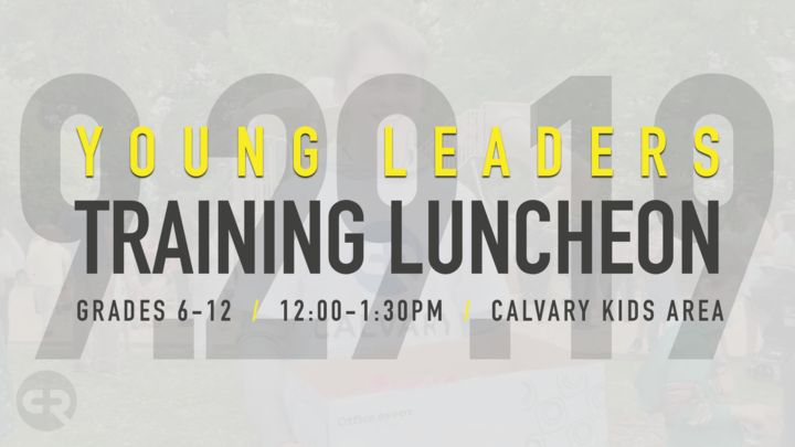 Young Leaders Training Luncheon logo image