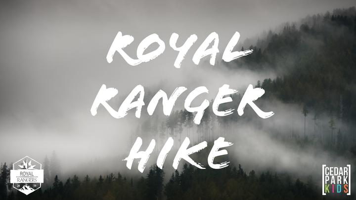 ROYAL RANGER HIKE: 2019 logo image