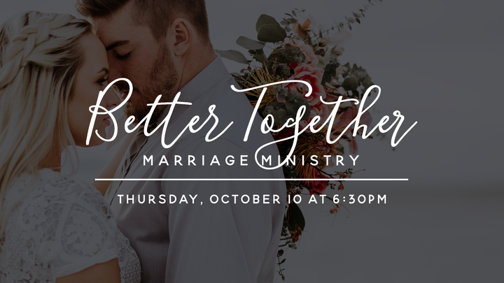Marriage Ministry   Better Together Date Night logo image