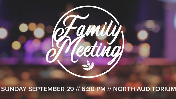 Family Meeting Potluck logo image