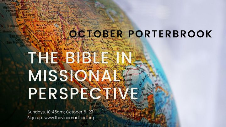 Porterbrook: The Bible In Missional Perspective logo image