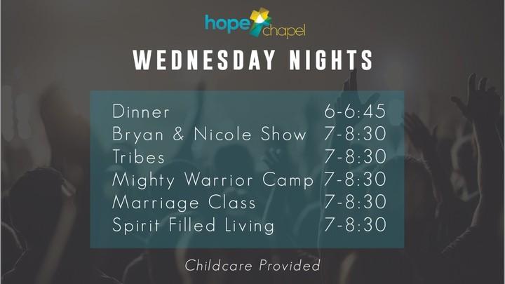 Wednesday Night Dinner & Programming logo image