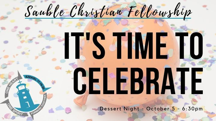 Celebrate Together Dessert Night logo image