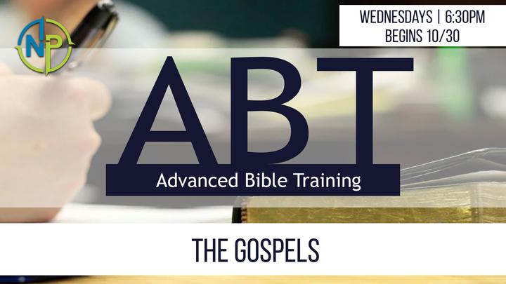 ABT - The Gospels (4 Weeks, Wednesdays 6:30-8:00, Begins 10/30) logo image
