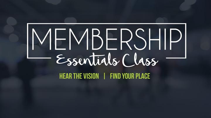 Membership Essentials Class (2 weeks - November 12 & 19) logo image