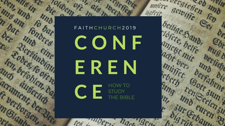 Faith Conference 2019 - How to Study the Bible logo image
