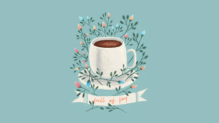 A Cup Full Of Joy logo image