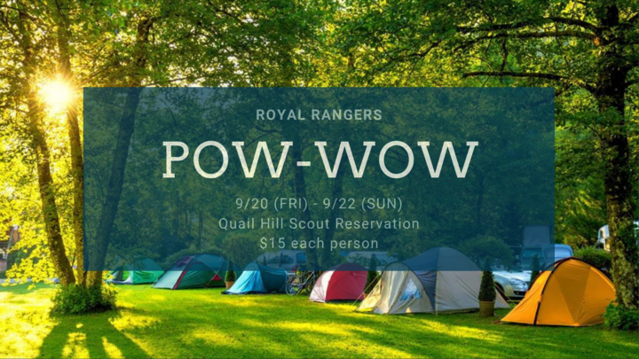 Royal Rangers: POW-WOW logo image