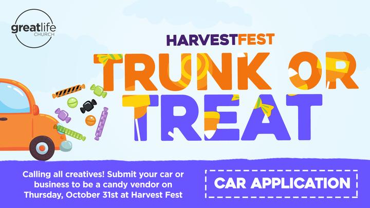 Trunk or Treat Car Applications logo image