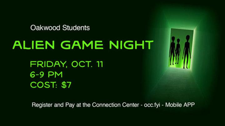 Alien Game Night logo image