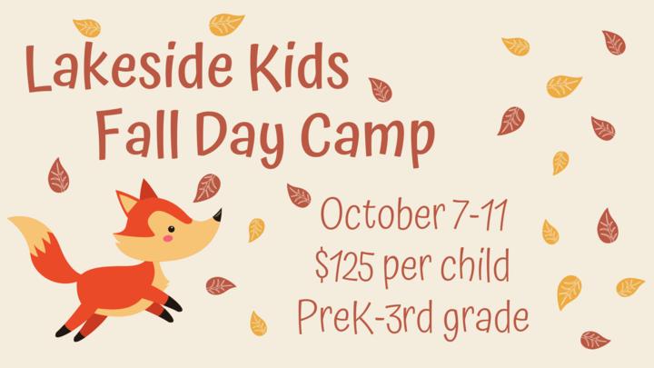 Lakeside Kids Fall Day Camp logo image