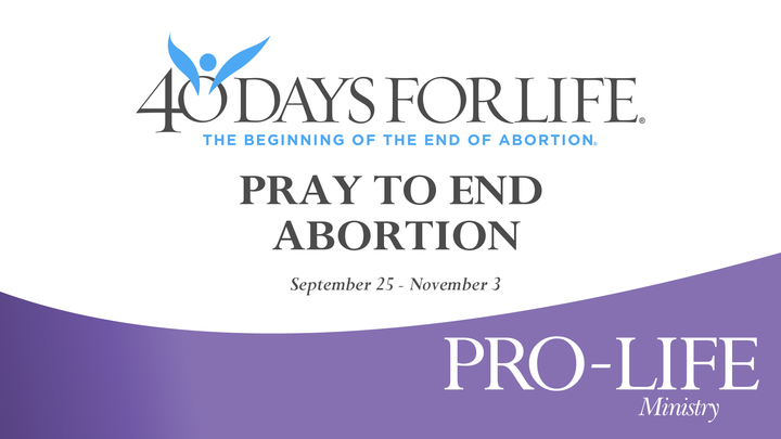 CFC Signup to Pray - 40 Days for Life  logo image