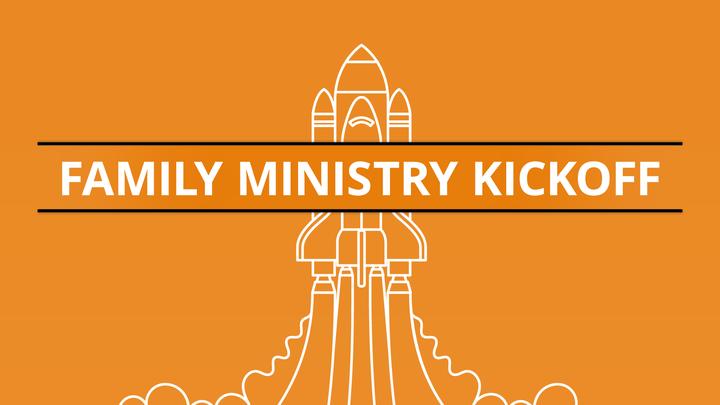 Family Ministry Kickoff logo image