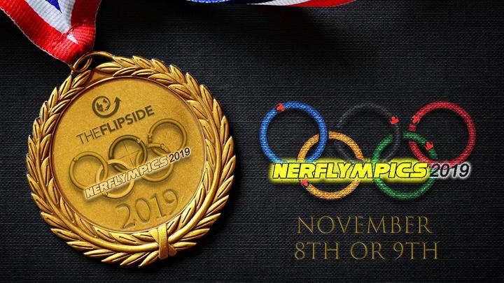 Nerflympics volunteers logo image