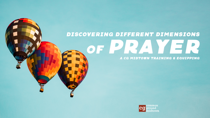 Discovering Different Dimensions of Prayer T&E • A Primer on Prayer logo image