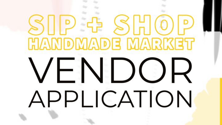 Sip + Shop Vendor Application logo image