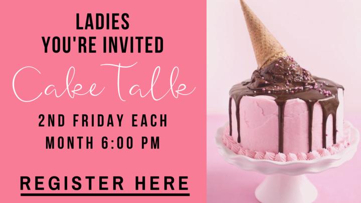 """Women's """"Cake Talk"""" logo image"""
