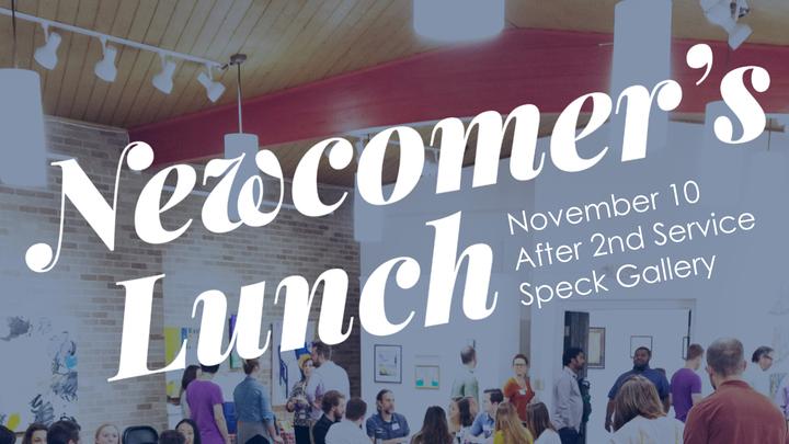 November Newcomer's Lunch  logo image