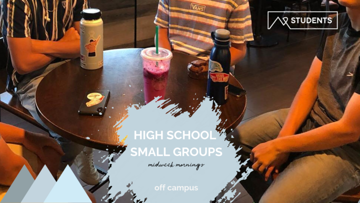 High School Small Groups (Off-campus) logo image
