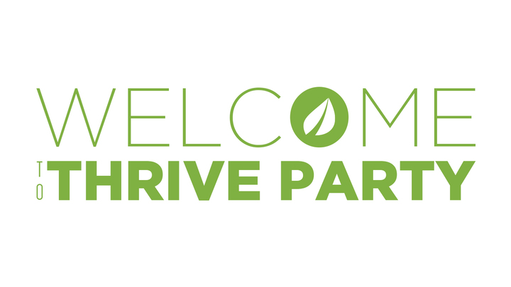 Welcome to Thrive Party logo image