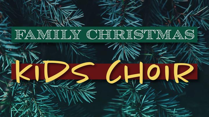 Family Christmas Kids Choir logo image