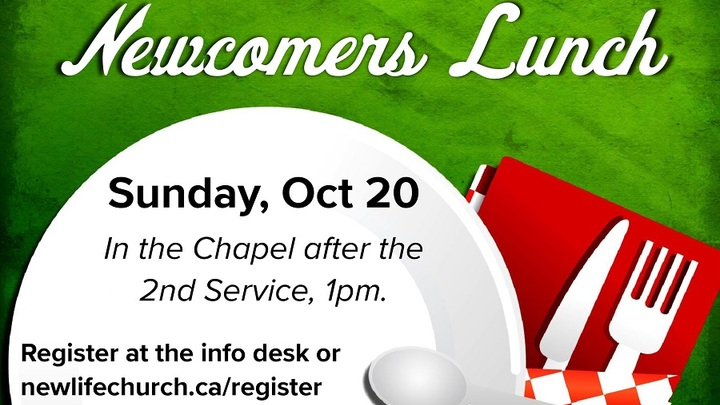 Newcomers Lunch - Oct 20, 2019 logo image