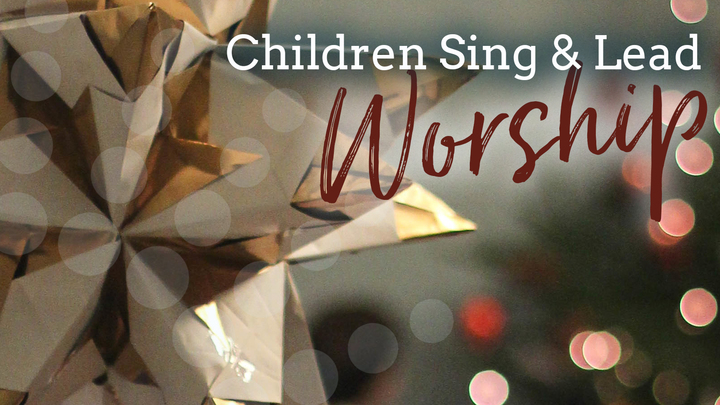 Children Lead Worship logo image